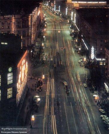Москва и москвичи, 1977 год (43 фотографии)