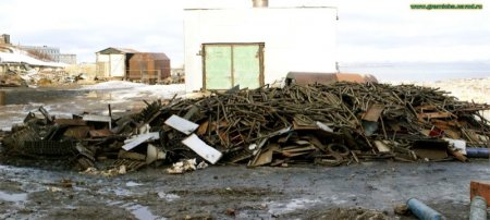 Мертвые города на Кольском полуострове (50 фотографий)