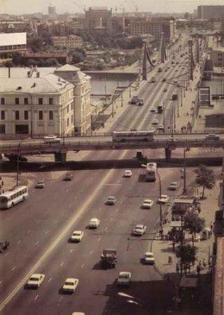 Фотографии Москвы времен СССР (46 фотографий)