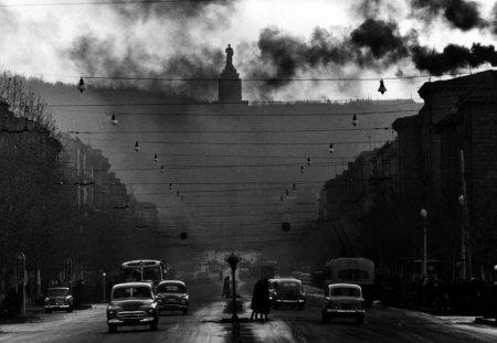 Роберт Лебек. Монумент Сталину. Ереван, 1962 год