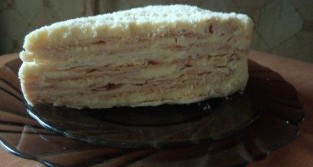 Торт «Наполеон» из СССР